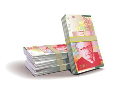 שטרות כסף ישראלי להלוואה בכל הארץ